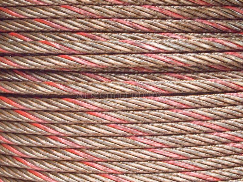 Πηνίο σύρματος από αλουμίνιο στοκ εικόνα