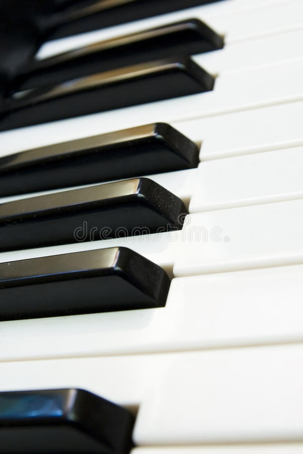 πιάνο πληκτρολογίων στοκ εικόνες με δικαίωμα ελεύθερης χρήσης