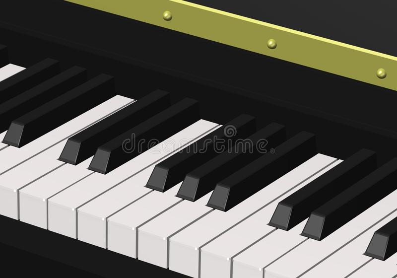 πιάνο ελεύθερη απεικόνιση δικαιώματος