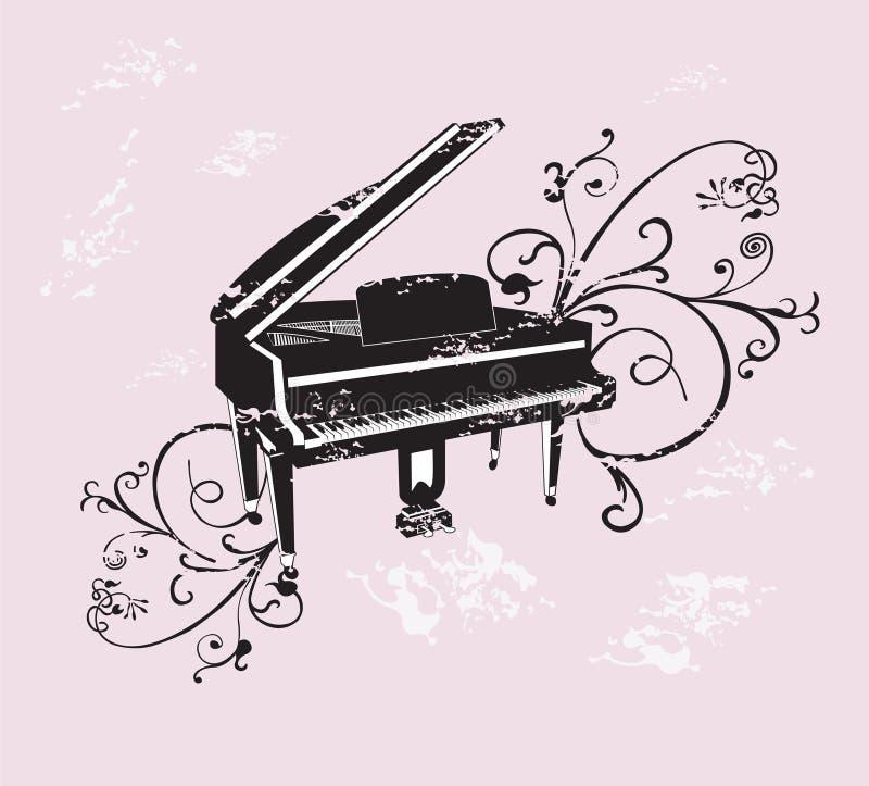 πιάνο απεικόνιση αποθεμάτων