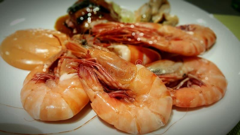 Πιάτο θαλασσινών στοκ εικόνα με δικαίωμα ελεύθερης χρήσης