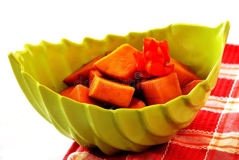 Πιάτο μάγκο στοκ φωτογραφία
