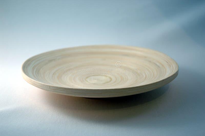 πιάτο μπαμπού στοκ φωτογραφίες με δικαίωμα ελεύθερης χρήσης
