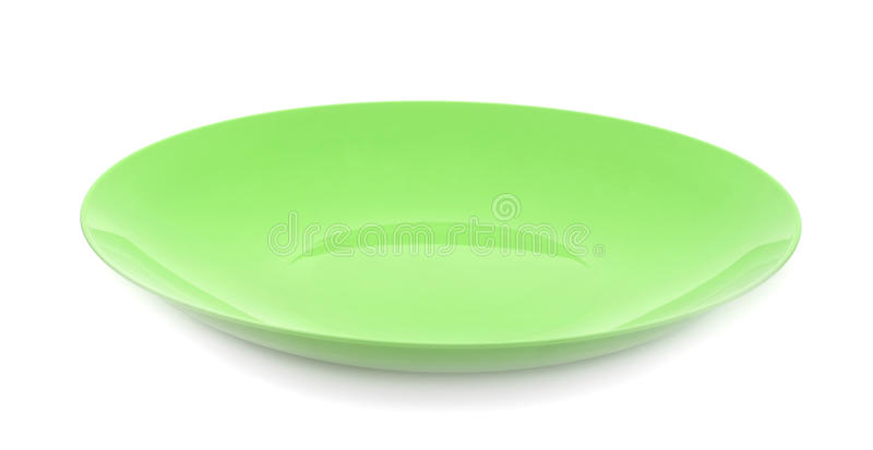 Πιάτο που απομονώνεται πλαστικό στοκ φωτογραφία με δικαίωμα ελεύθερης χρήσης