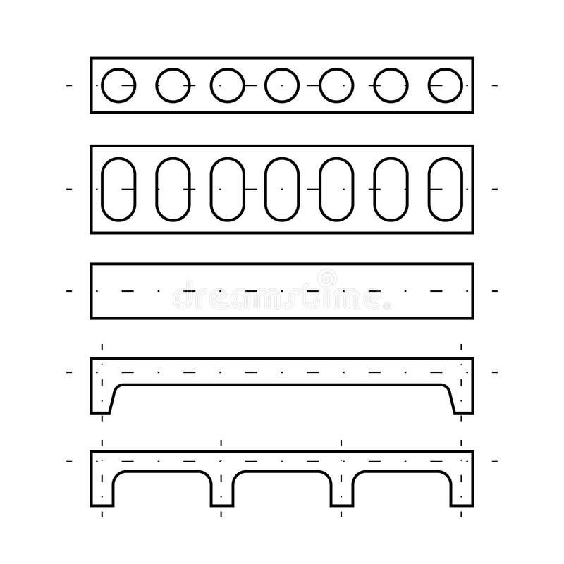 Πιάτο της επικάλυψης απεικόνιση αποθεμάτων