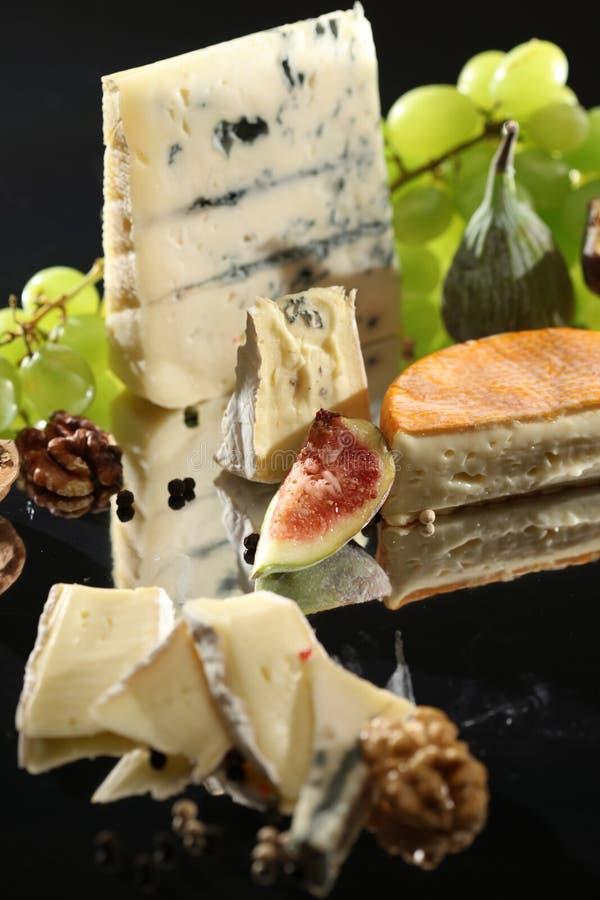 Πιάτο τυριών στοκ φωτογραφία