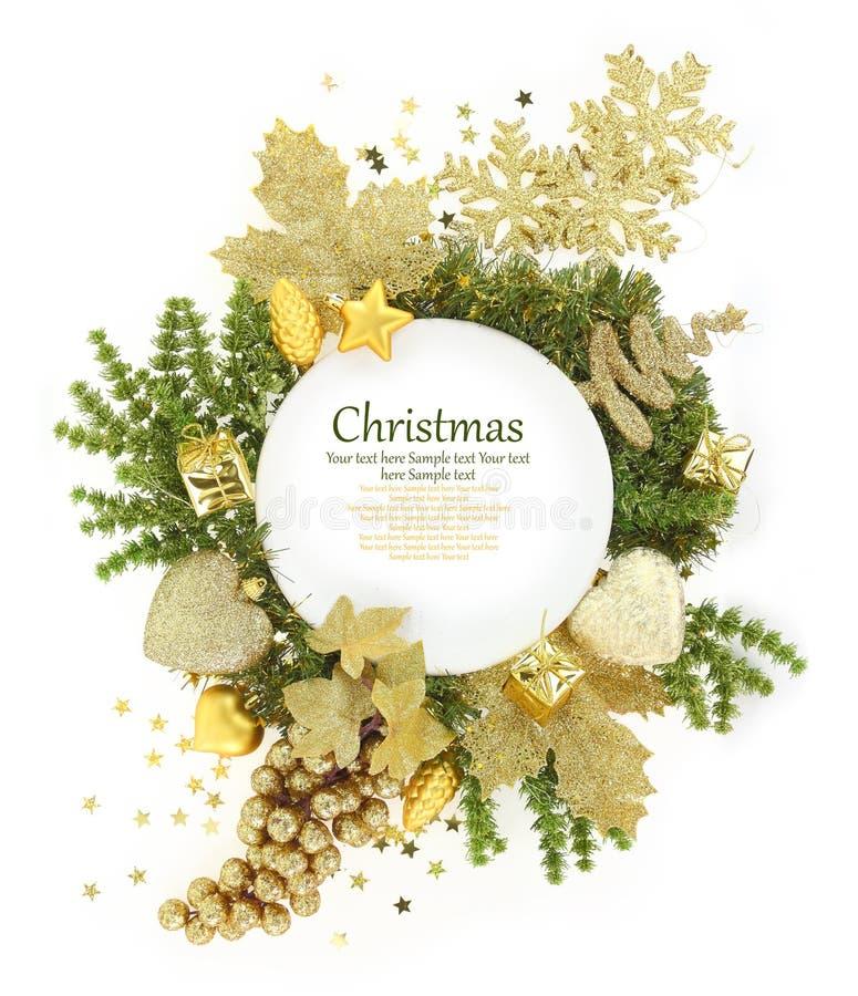 Πιάτο Χριστουγέννων στοκ φωτογραφίες