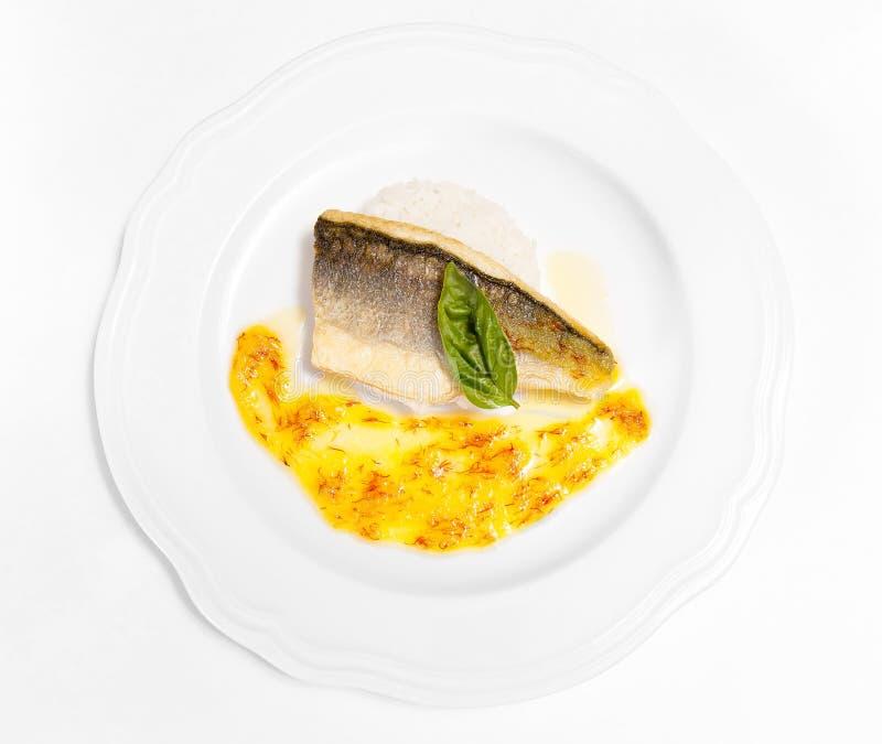 Πιάτο ψαριών στοκ φωτογραφία