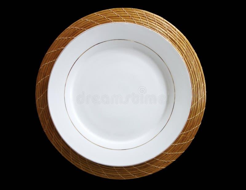 πιάτο στοκ φωτογραφία με δικαίωμα ελεύθερης χρήσης
