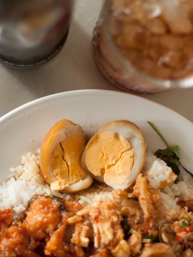 Πιάτο Combo με το αυγό στοκ εικόνες με δικαίωμα ελεύθερης χρήσης