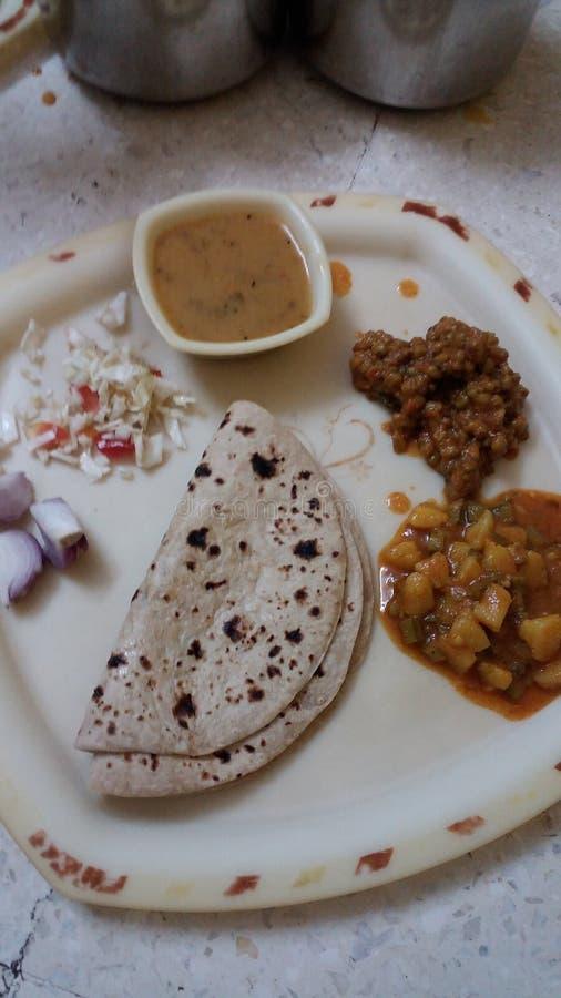 πιάτο gujarati στοκ εικόνα με δικαίωμα ελεύθερης χρήσης