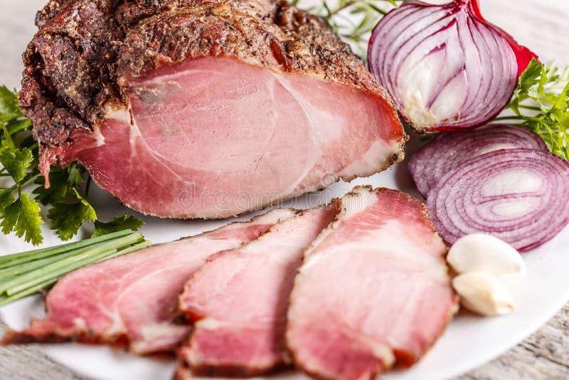 Πικάντικη οσφυϊκή χώρα χοιρινού κρέατος στοκ εικόνα με δικαίωμα ελεύθερης χρήσης