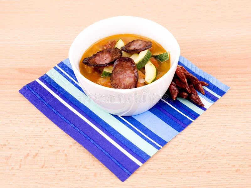 Download πικάντικος νόστιμος σούπ&alpha Στοκ Εικόνες - εικόνα από πιπέρι, αντικείμενο: 17054606