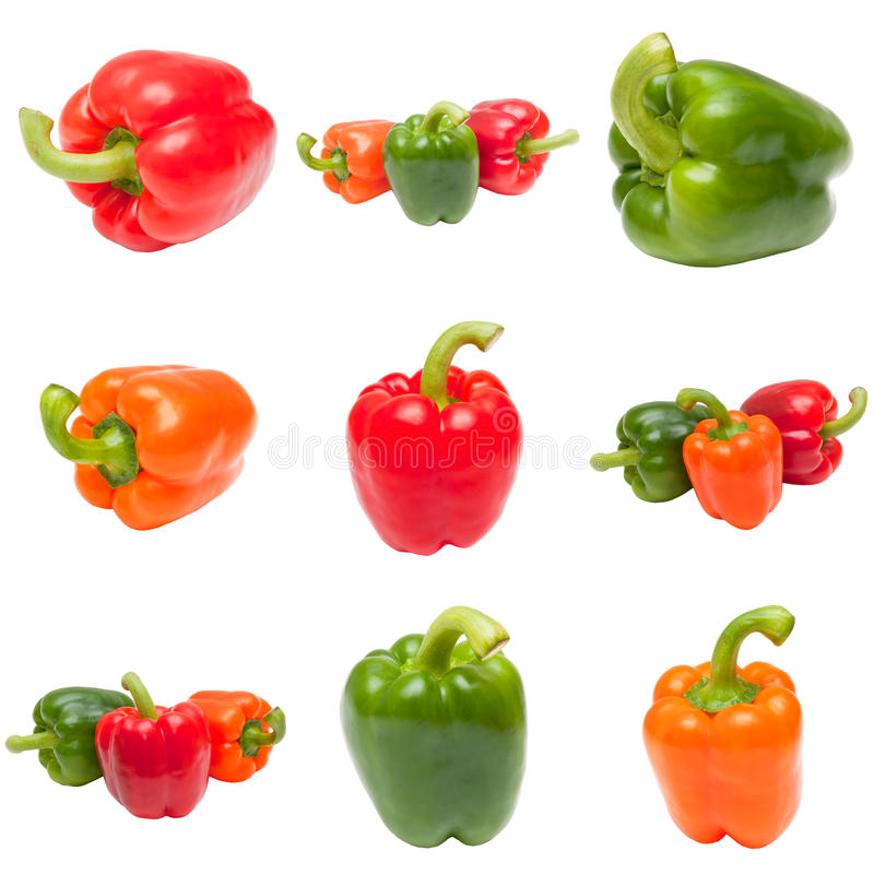 πιπέρια κουδουνιών στοκ εικόνα με δικαίωμα ελεύθερης χρήσης