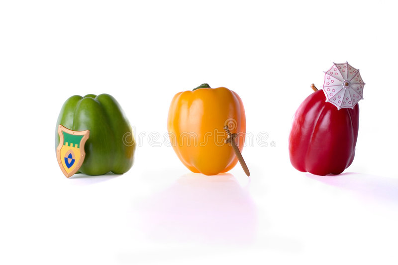 πιπέρια κουδουνιών στοκ εικόνες