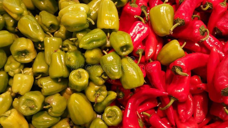 Πιπέρια στην αγορά στοκ φωτογραφία με δικαίωμα ελεύθερης χρήσης