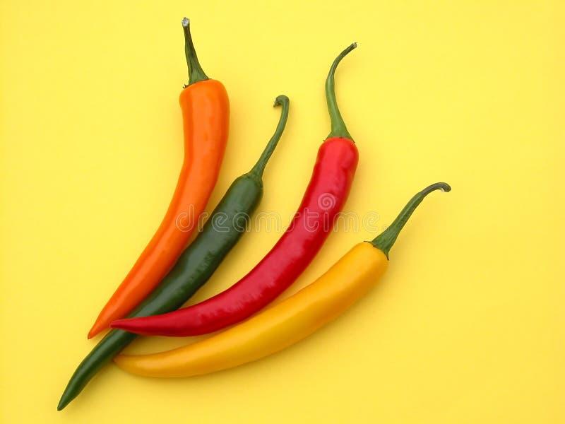πιπέρια τσίλι στοκ φωτογραφίες