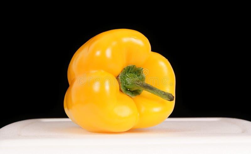 πιπέρι κίτρινο στοκ εικόνα