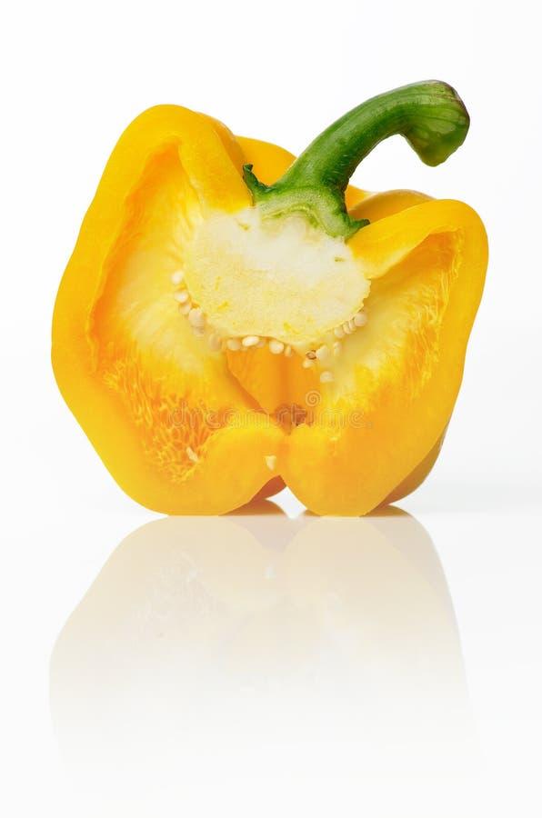 πιπέρι κίτρινο στοκ εικόνες με δικαίωμα ελεύθερης χρήσης