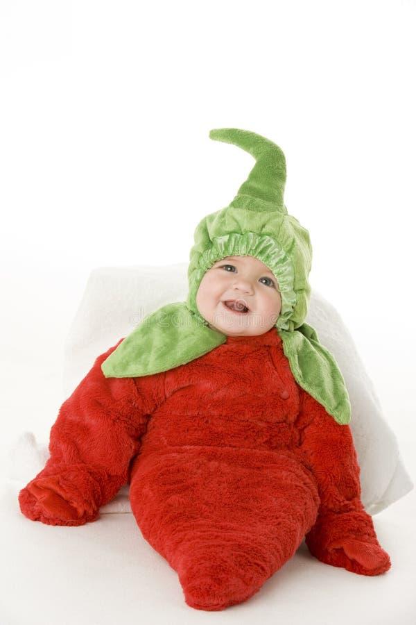 πιπέρι κοστουμιών μωρών στοκ εικόνες