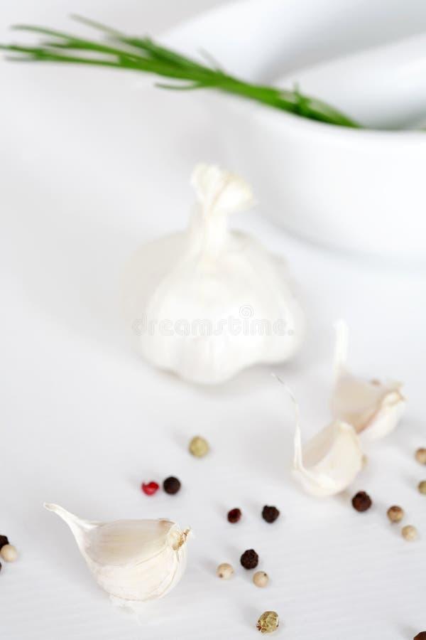 πιπέρι σκόρδου στοκ εικόνα με δικαίωμα ελεύθερης χρήσης