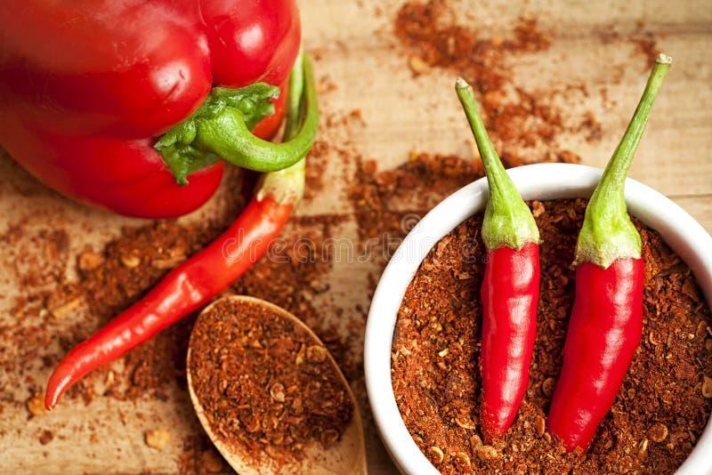 Πιπέρι του Cayenne καρυκευμάτων στοκ φωτογραφία με δικαίωμα ελεύθερης χρήσης