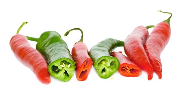 πιπέρι του Cayenne στοκ εικόνα