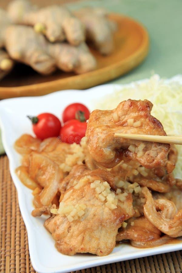 Πιπερόριζα χοιρινού κρέατος στοκ φωτογραφία με δικαίωμα ελεύθερης χρήσης