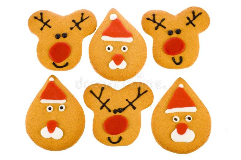 πιπερόριζα Χριστουγέννων ψωμιού στοκ φωτογραφίες