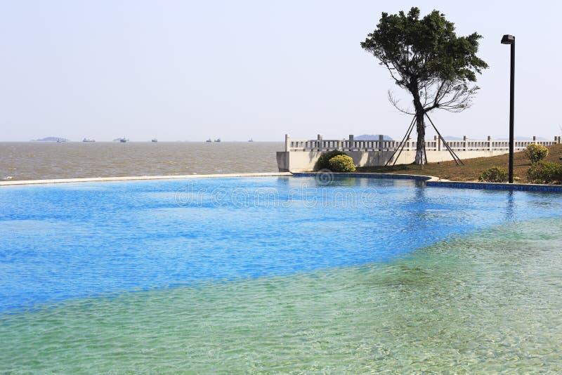 Πισίνα παραλιών στοκ φωτογραφίες με δικαίωμα ελεύθερης χρήσης