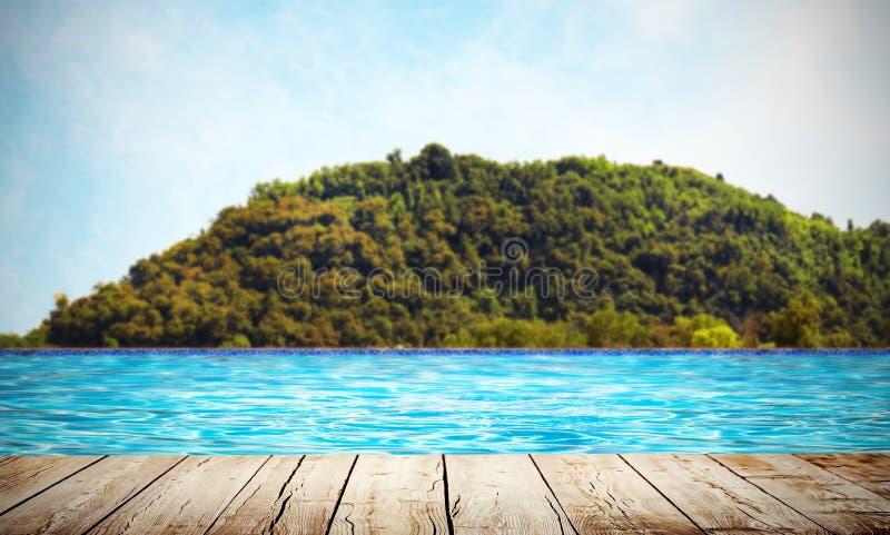 Πισίνα στη φύση στοκ εικόνες