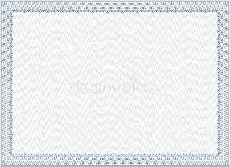 Πιστοποιητικό, δίπλωμα για την τυπωμένη ύλη στοκ φωτογραφίες με δικαίωμα ελεύθερης χρήσης
