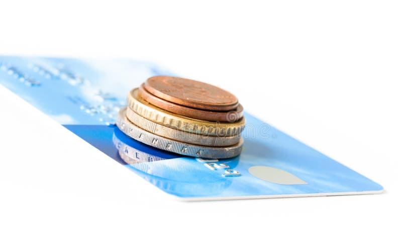 Πιστωτική κάρτα και χρήματα στοκ εικόνες