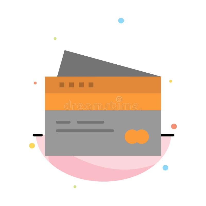 Πιστωτική κάρτα, τραπεζικές εργασίες, κάρτα, κάρτες, πίστωση, χρηματοδότηση, χρήματα, πρότυπο εικονιδίων χρώματος αγορών αφηρημέν απεικόνιση αποθεμάτων