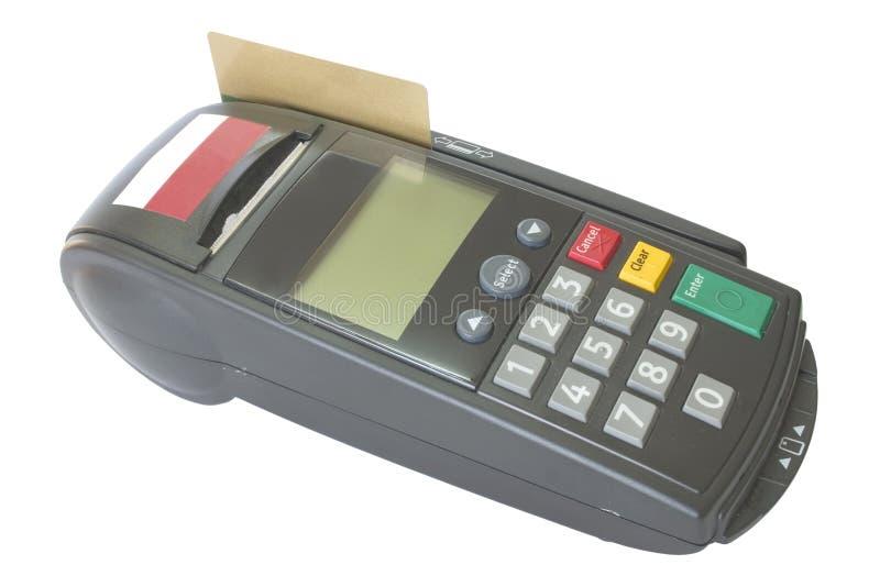 πιστωτικός αναγνώστης καρτών στοκ φωτογραφία με δικαίωμα ελεύθερης χρήσης