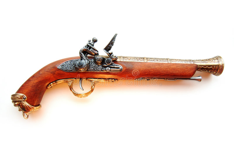 Download πιστόλι στοκ εικόνα. εικόνα από χέρι, περίστροφο, μουσκέτο - 2226195