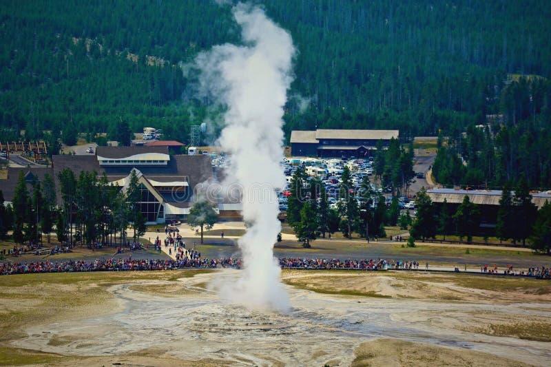 πιστό geyser παλαιό στοκ φωτογραφία