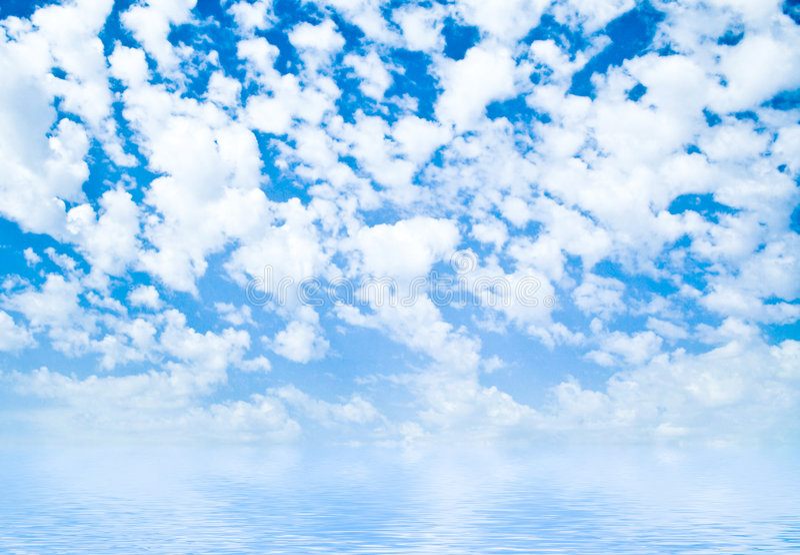 πιό στενός ουρανός τώρα στοκ φωτογραφία
