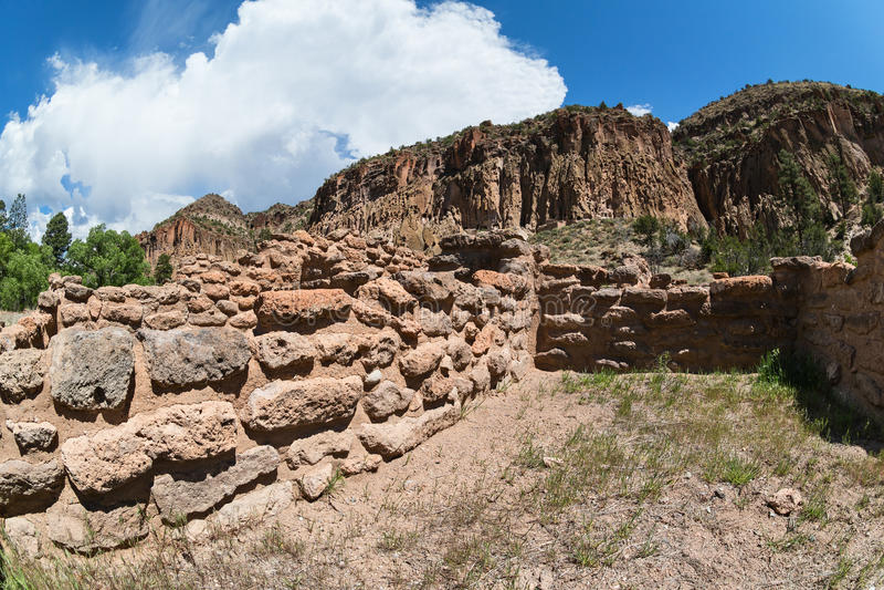πιό bandelier μνημείο εθνικό στοκ εικόνες