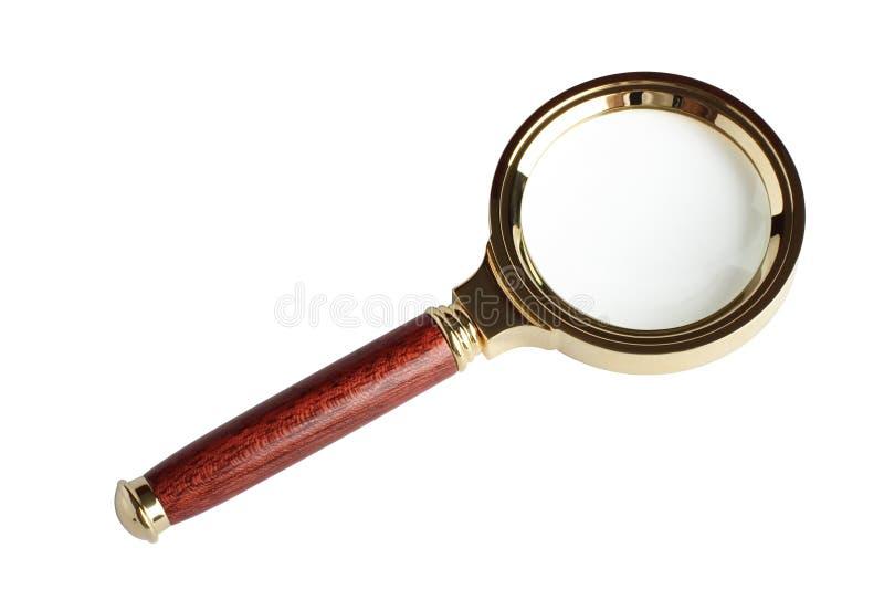 πιό magnifier δύο στοκ εικόνες