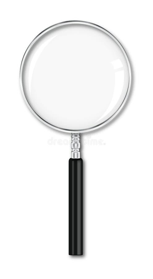 πιό magnifier διανυσματική απεικόνιση
