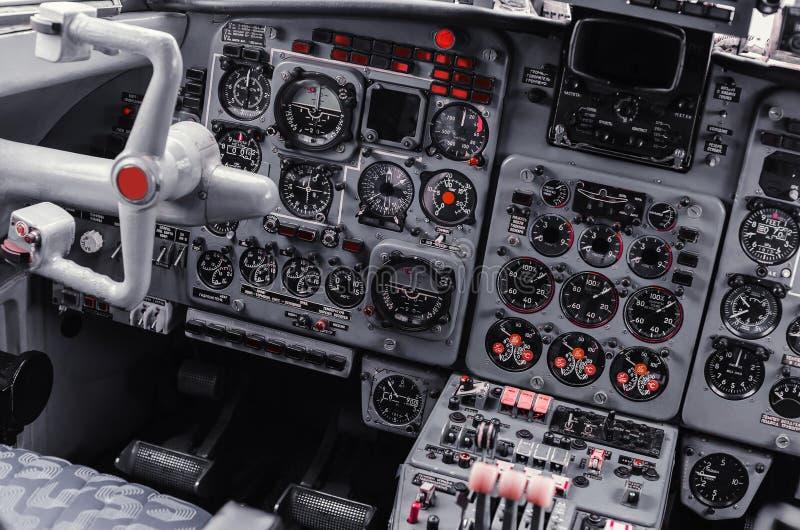Πιλοτήριο αεροπλάνων απεικόνιση αποθεμάτων