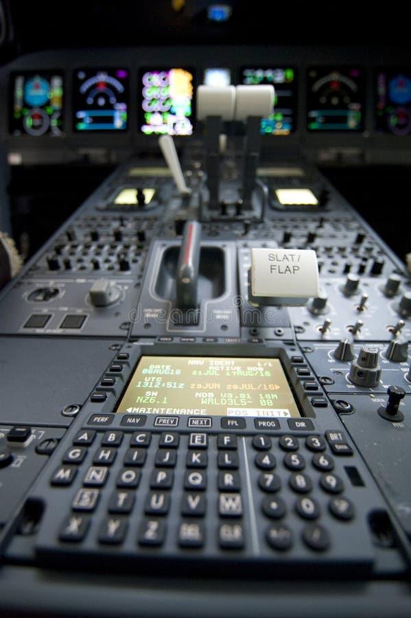 πιλοτήριο στοκ φωτογραφία
