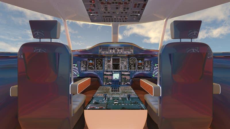 πιλοτήριο απεικόνιση αποθεμάτων