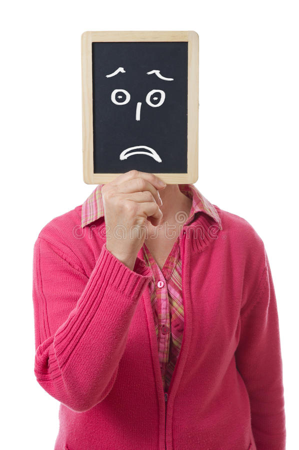 Πλάκα και θλίψη στοκ εικόνα με δικαίωμα ελεύθερης χρήσης