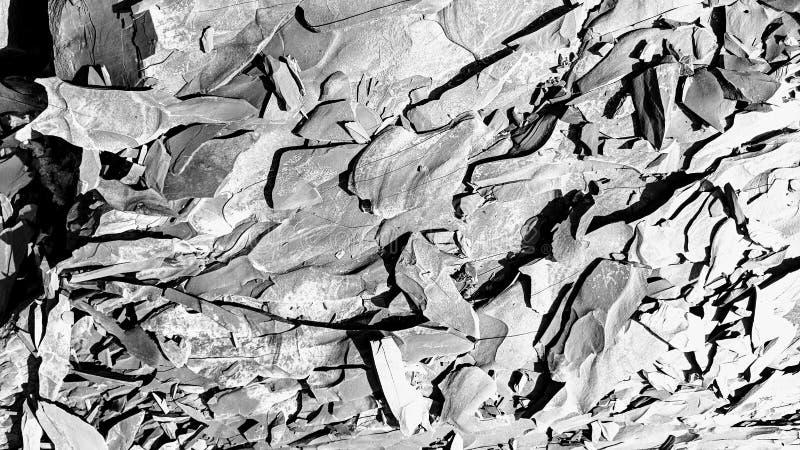 Πλάκα των πλάκα-όπως πετρών στοκ εικόνες