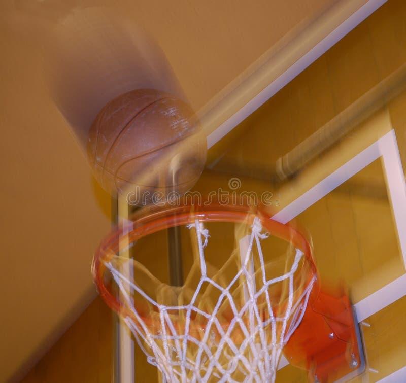 πλάνο καλαθοσφαίρισης στοκ εικόνες