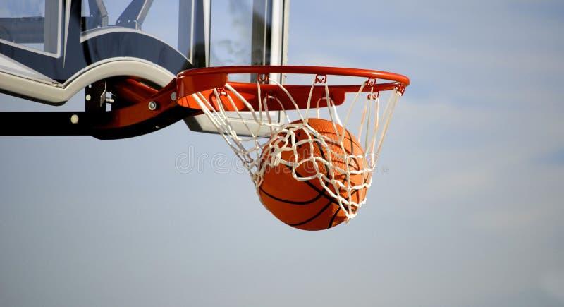 πλάνο καλαθοσφαίρισης στοκ φωτογραφία