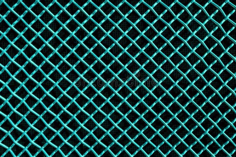 Πλέγμα μετάλλων ή πλέγμα αργιλίου στο μαύρο υπόβαθρο στοκ εικόνα με δικαίωμα ελεύθερης χρήσης