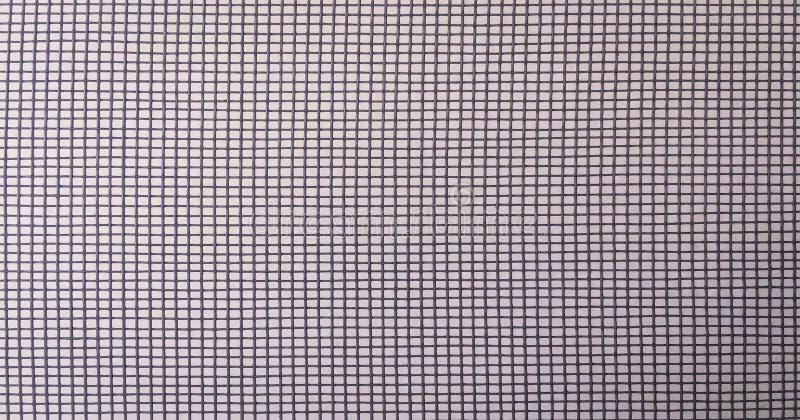 Πλέγμα στο άσπρο υπόβαθρο, καθαρό σχέδιο Εμπορικά δίχτυα του ψαρέματος Μαύρη σκιαγραφία διχτυού του ψαρέματος που απομονώνεται στ στοκ φωτογραφία